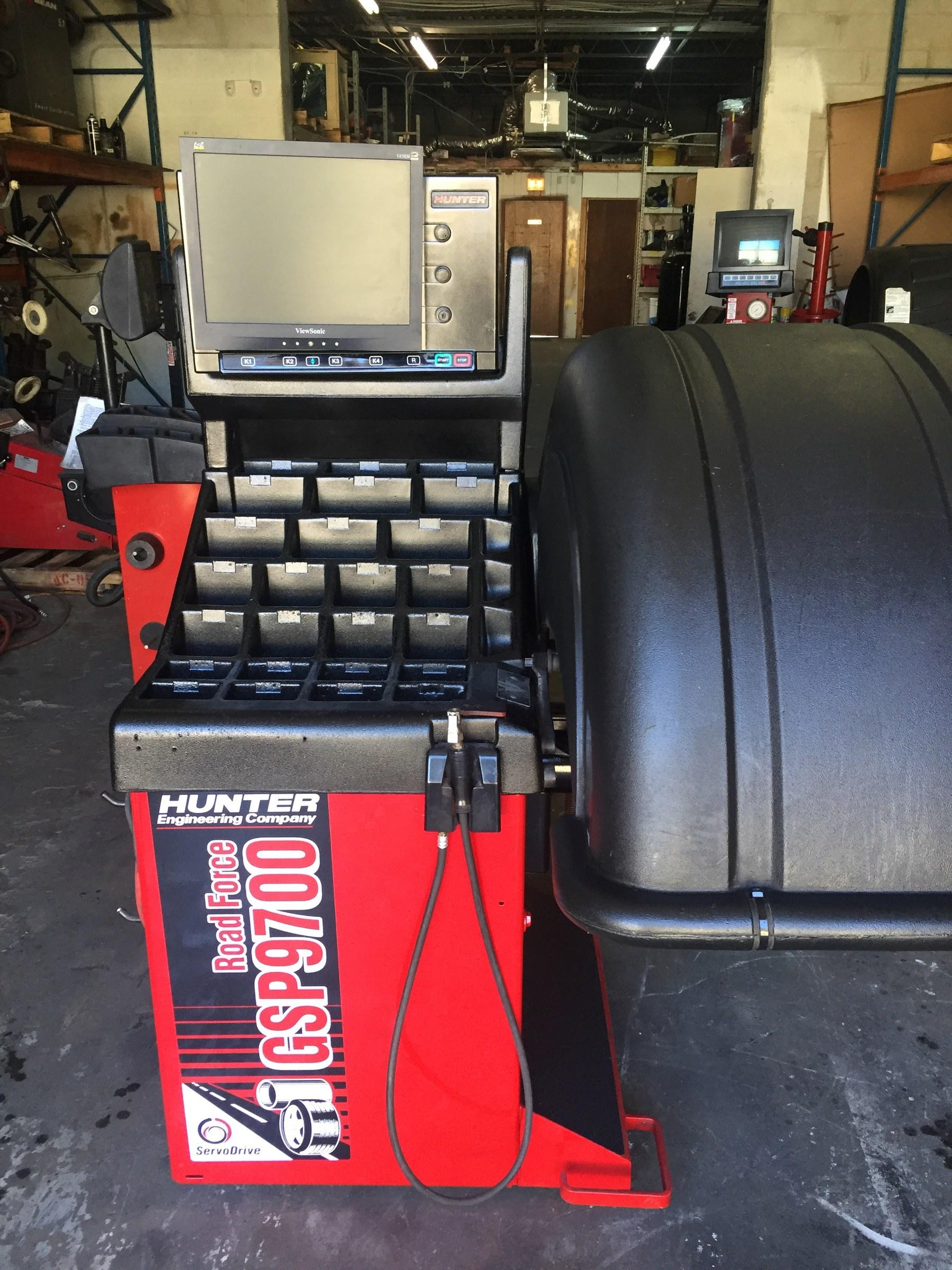 Used Wheel Balancers - FAST Equipment