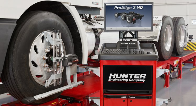 Car Air Conditioning Repair >> Hunter PT200 Heavy Duty Alignment Machine - FAST Equipment