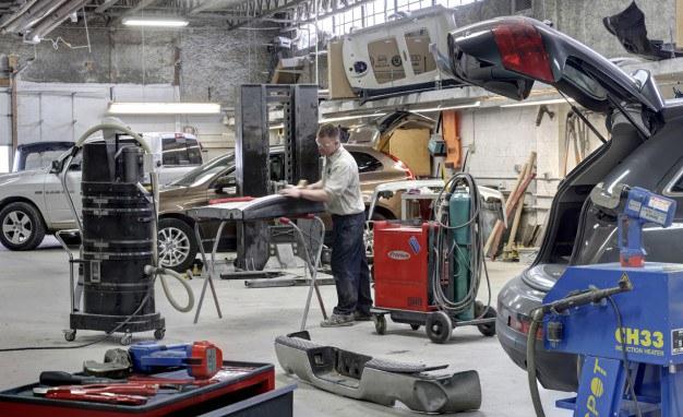 Collision repair body shop equipment for Parlour equipment