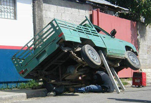 Car Dealerships Fort Myers >> Automotive Lift Compliance: DON'T BE THIS GUY - FAST Equipment