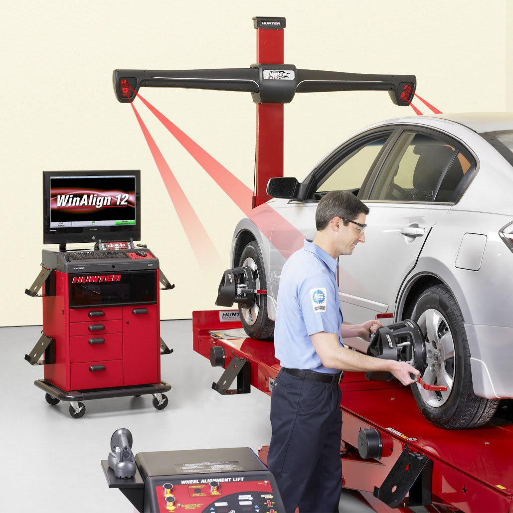 Automotive Air Conditioning >> HawkEye Elite Alignment Machine - FAST Equipment